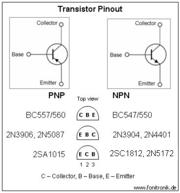 C557b transistor